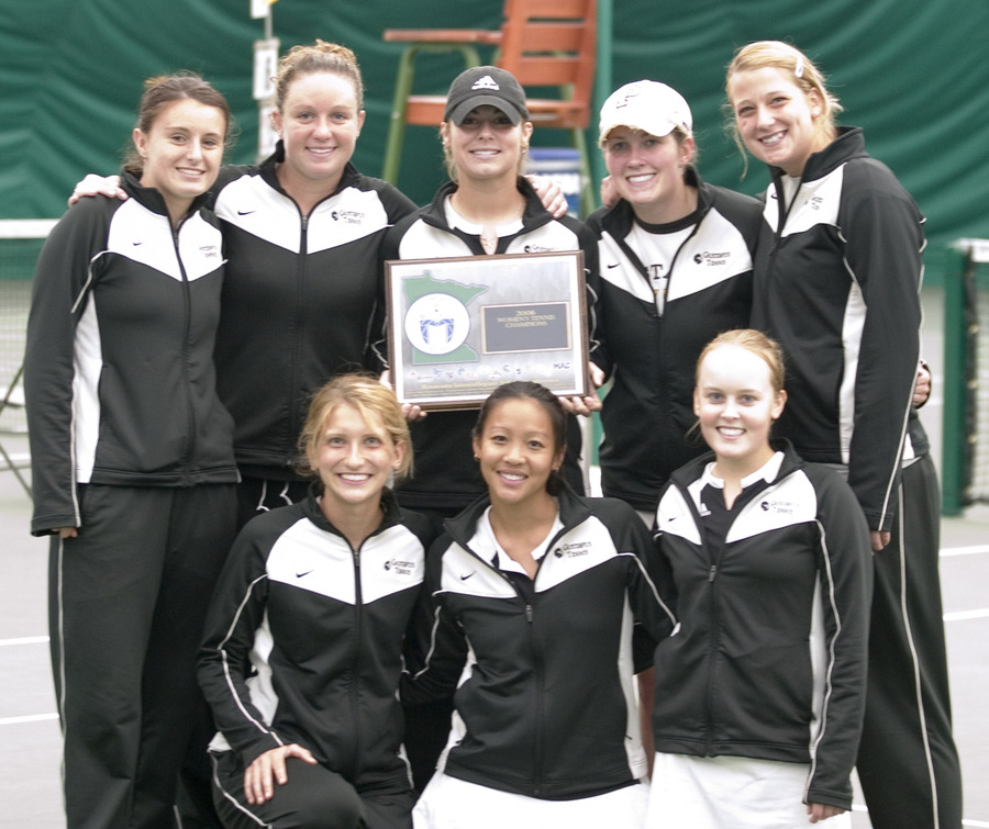 Gustavus won its 21st MIAC title in women's tennis Saturday.