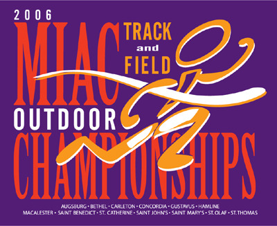 The Gustavus Adolphus men are currently sixth following the first day of the MIAC Outdoor Track and Field Championships.