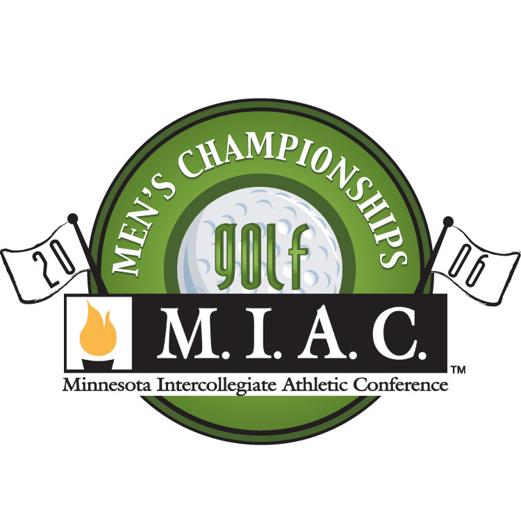 The Gustavus men's golf team sits second after day one of the MIAC Men's Golf Championships.
