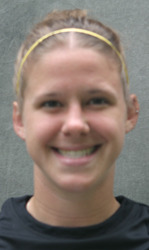 Amy Larson scored a goal in Saturday's 2-0 win over Bethel.