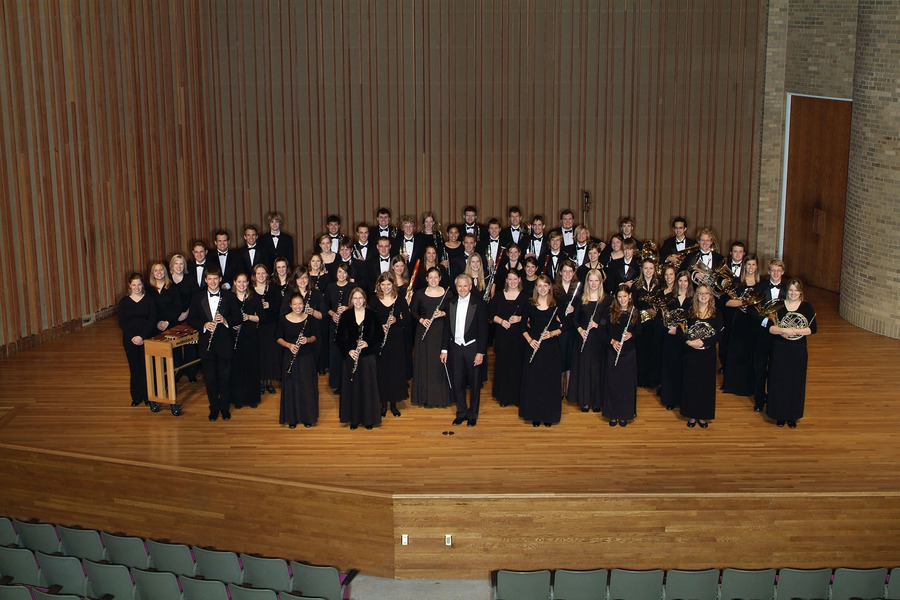 Gustavus Wind Orchestra and Conductor Douglas Nimmo