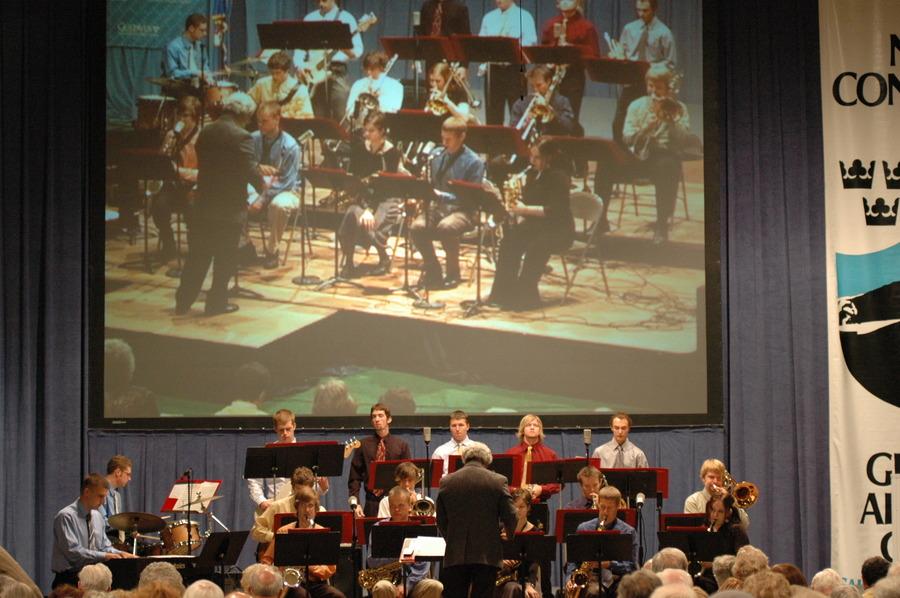 Gustavus Jazz Lab Band at Nobel Conference