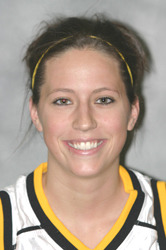 Bri Monahan became Gustavus' career scoring leader during the season.
