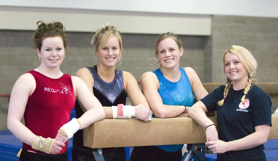2007 NCGA Nationals Qualifiers (l-r): Christine Askham, Laura Hansen, Nicole Gergen, and Brittany Moore.