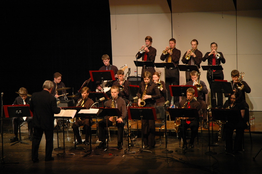 Gustavus Jazz Lab Band on Recent Concert Tour