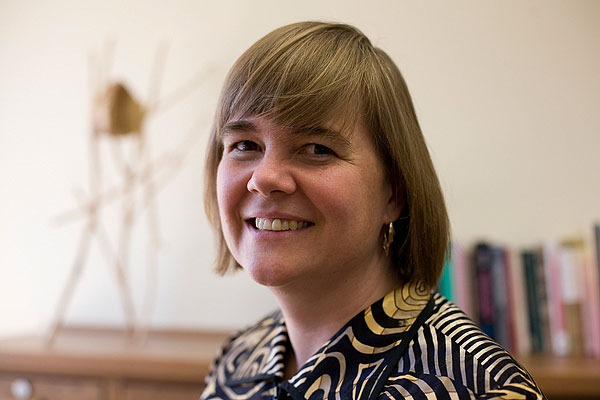 Mary E. Morton, Ph.D., New Provost and Vice President for Academic Affairs. (Photo by Joe Lencioni)