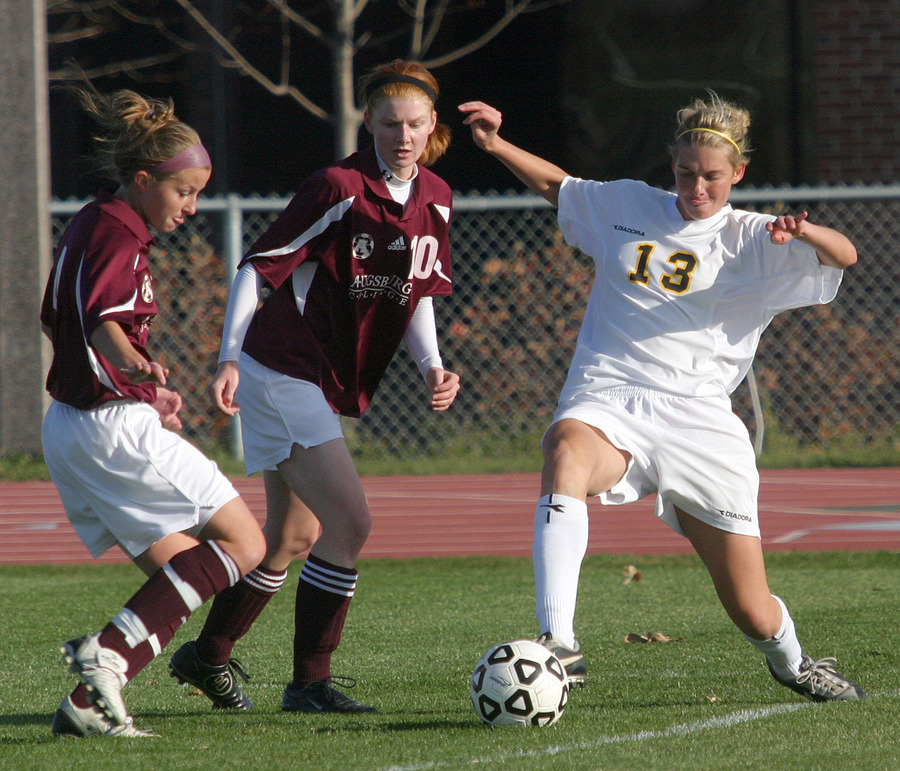 Jenna Iaizzo (#13) is the leading returning scorer for the Gusties.