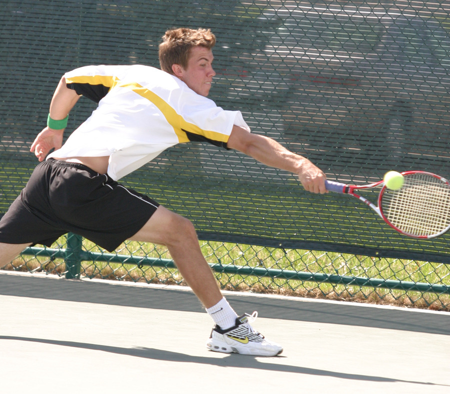 Andy Bryan is the #1 seed in the ITA Midwest Regional Tournament.
