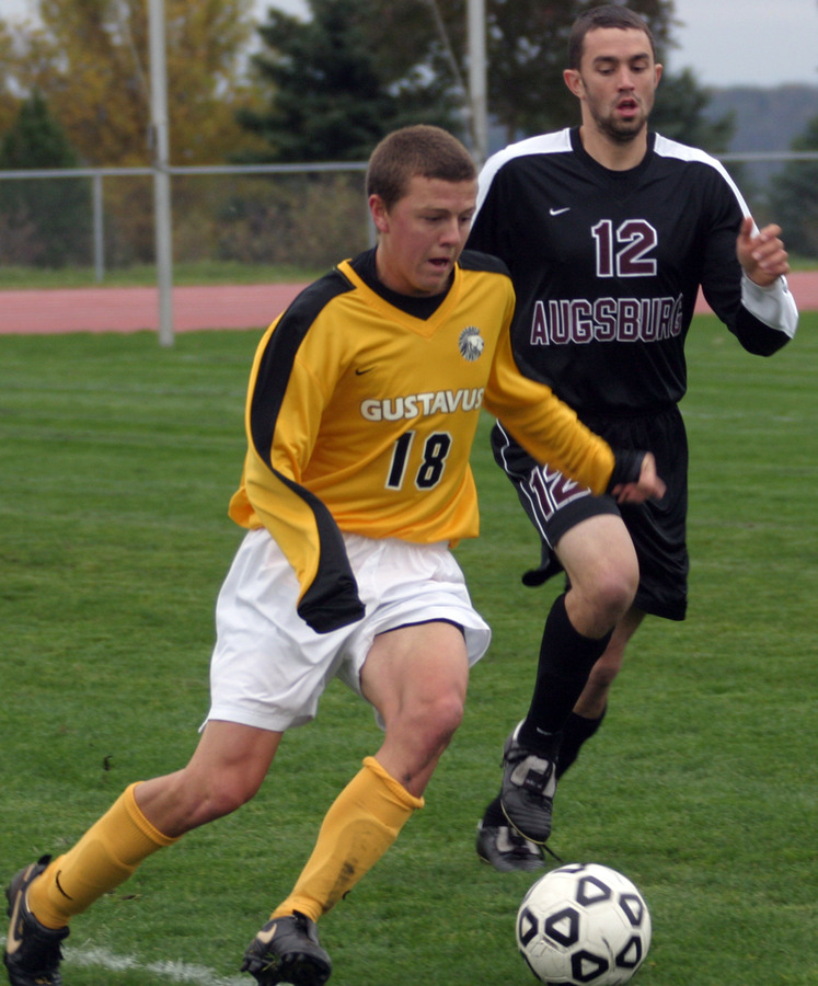 Max Malmquist assisted the Gusties' second goal.