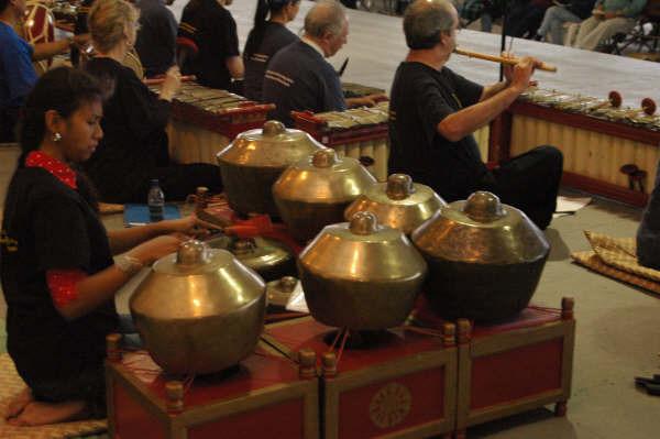 The Sumunar Gamelan Ensemble