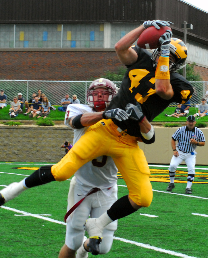 Junior Chad Arlt has compiled the most successful season by a Gustavus receiver in the program's history.