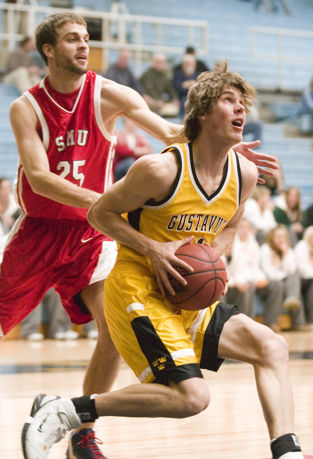Senior wing Trevor Wittwer is the Gusties leading returning scorer.