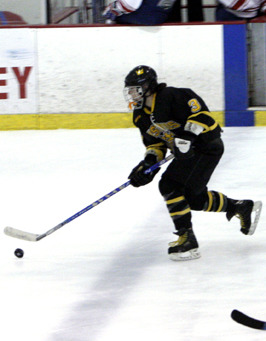 Stefanie Ubl scored two special teams goals.