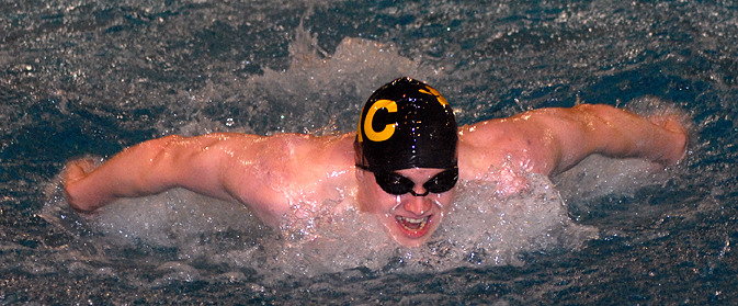 Ben Hanson finished in the top five in three individual events during the weekend.