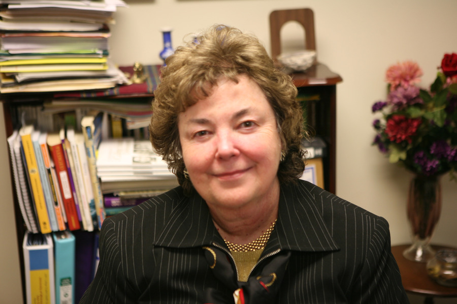 Judy Douglas has been addressing alcohol-related issues on campus since 1980.
