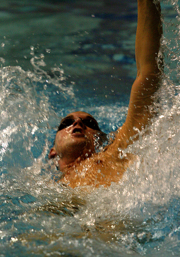 Backstroker extends for extra distance.