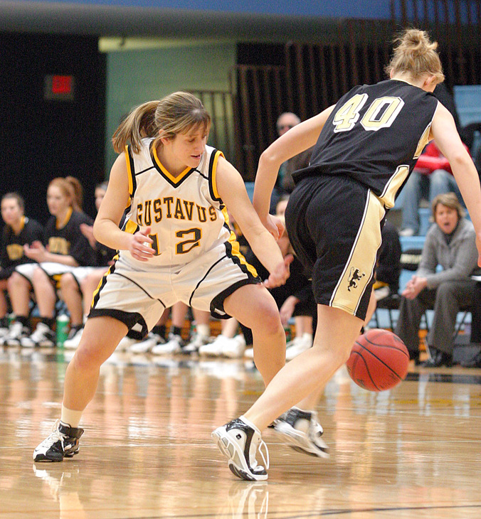 Vadnais is tied for second in the MIAC at 3.38 steals.