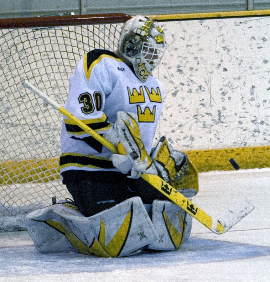 Goaltender Josh Swartout is 3-0-1 in his last four starts for the Gusties.