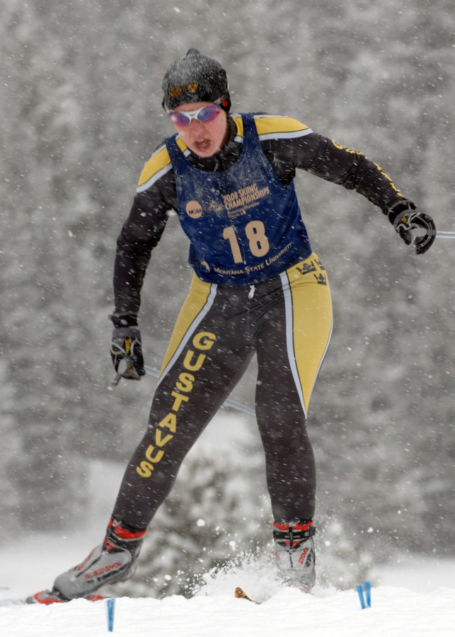Kathleen DeWahl finished 37th in the freestyle race.