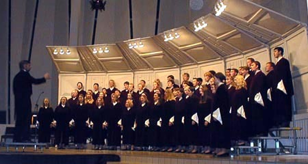 The Gustavus Choir will play its home concert on May 3.