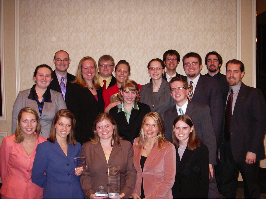 The Gustavus forensics team is ranked 20th in the nation.