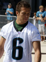 Hoag at Jaguars Mini-Camp (He is wearing #13 at training camp)