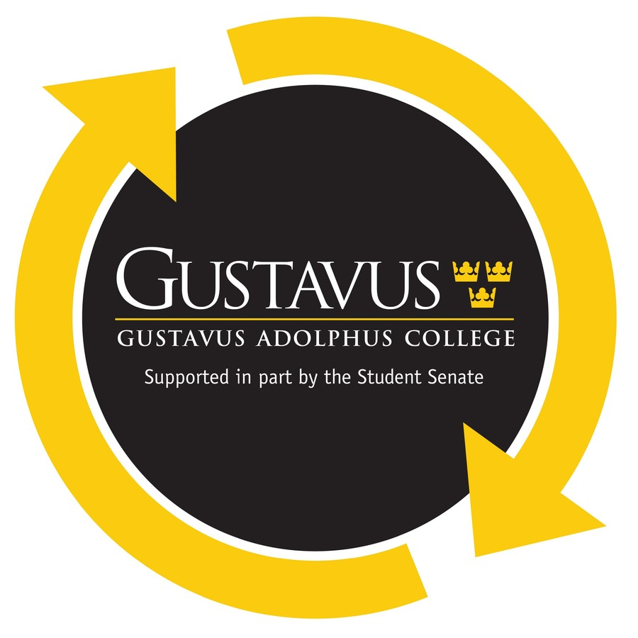 This graphic will appear on every piece of GustieWare.