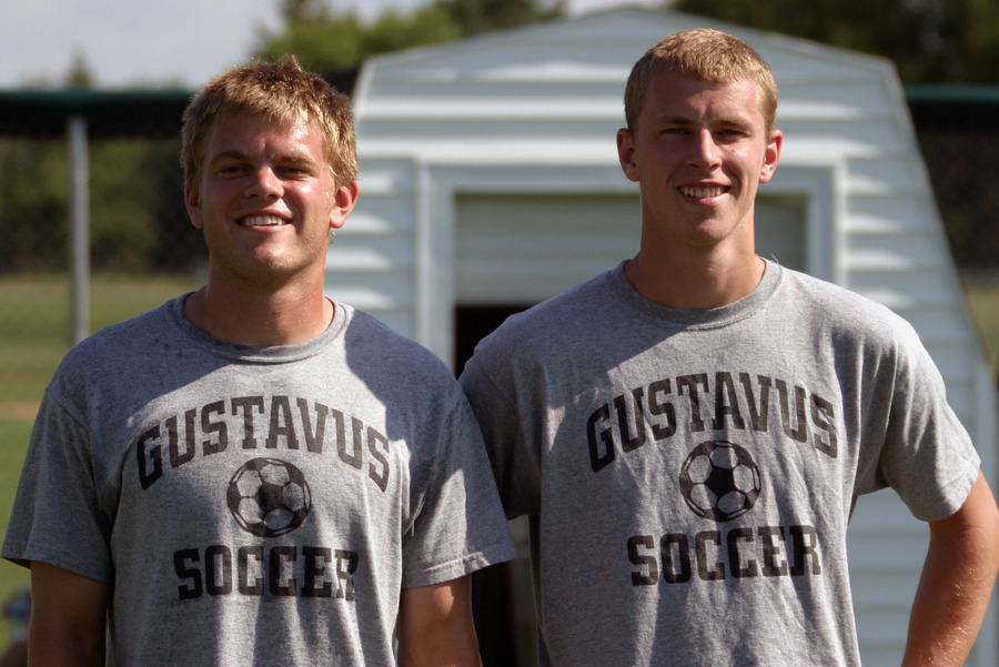 2008 Co-Captains (Todd Johnson and Flynn Stewart-Franzen)