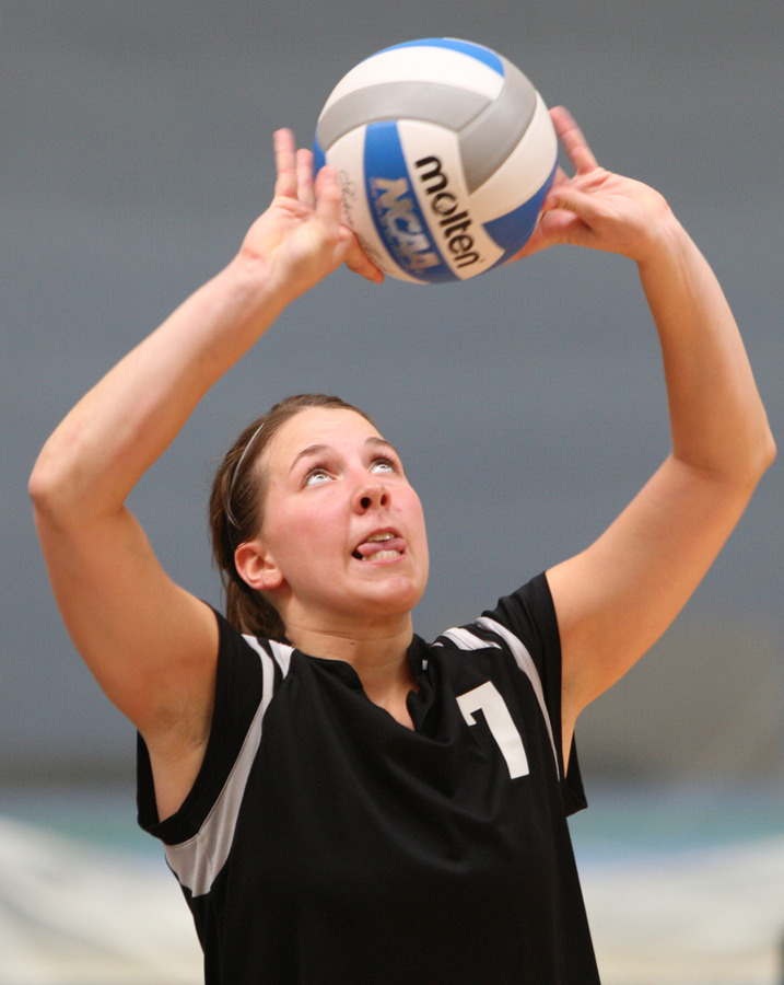 Senior Bridget Burtzel tallied 1,094 assists in 2007.
