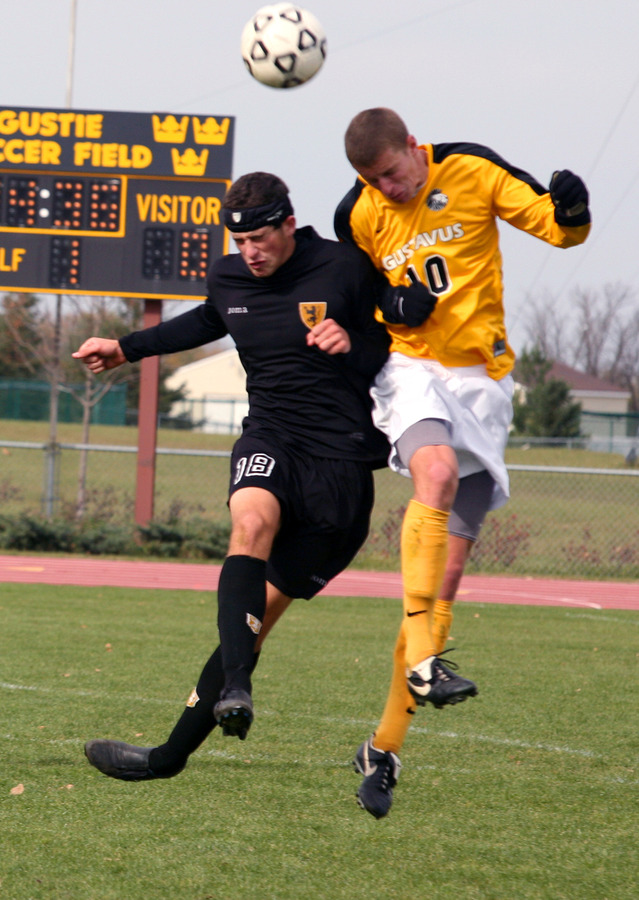 Senior captain Flynn Stewart-Franzen (right) will lead the Gusties in 2008.