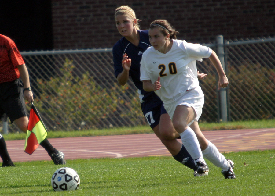 Chelsea Craven recorded a hat trick for the Gusties
