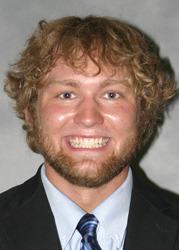 Senior Brian Berglund
