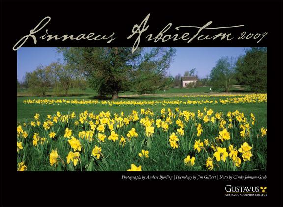 The cover of the 2009 Linnaeus Arboretum calendar.
