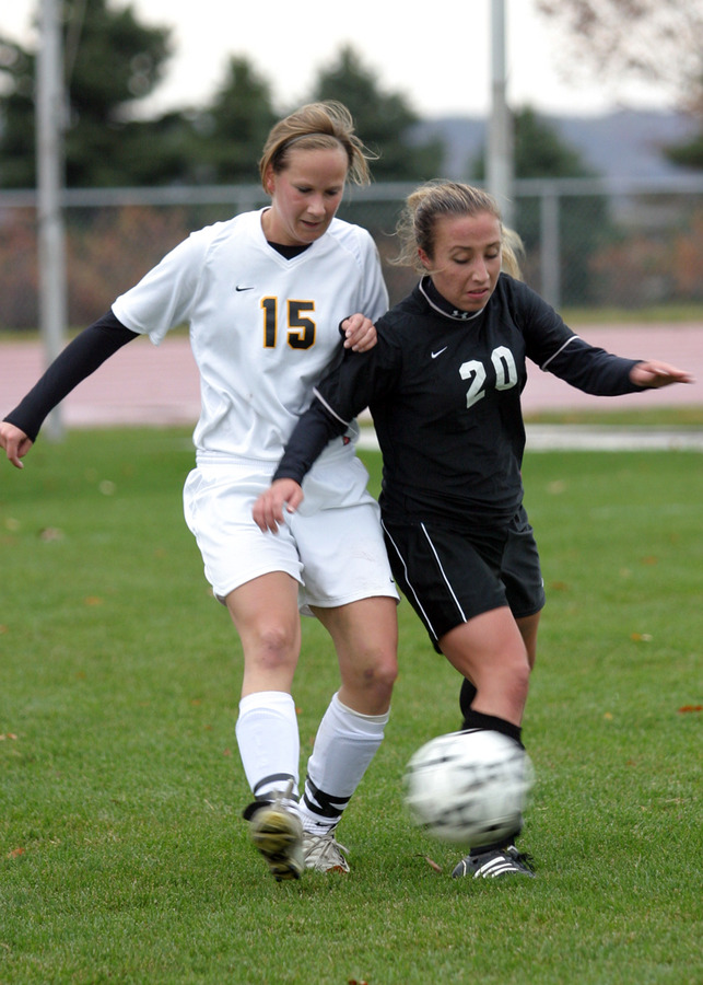 Christy Tupy scored the winning goal for the Gusties
