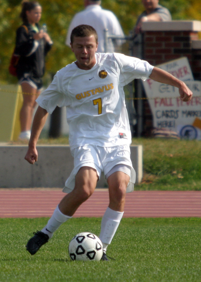 Max Malmquist scored the first goal of the game for the Gusties.