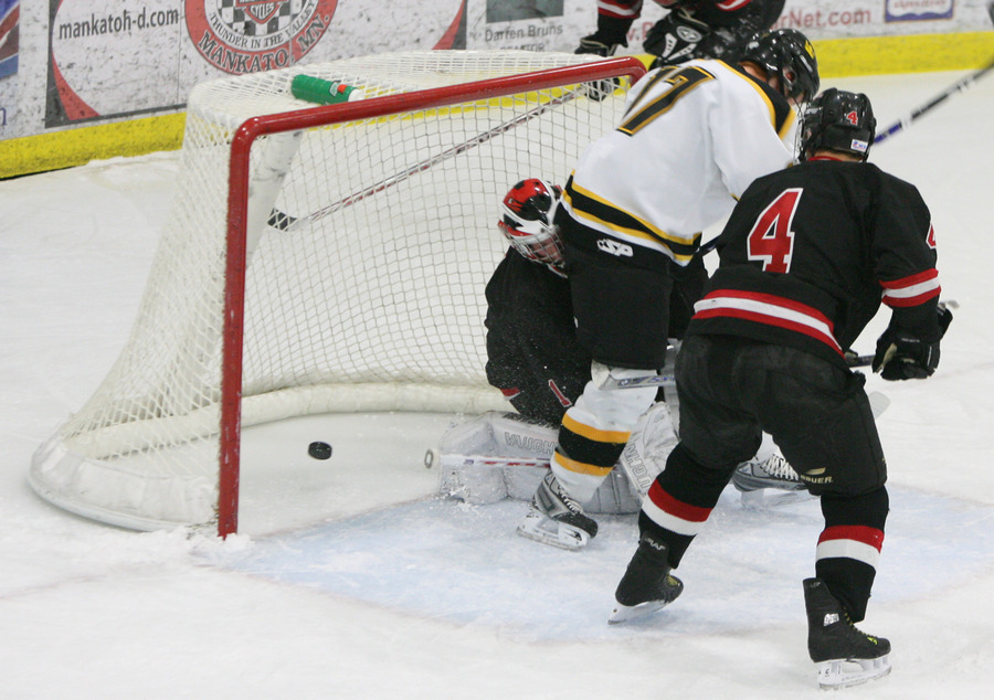 James Leathers scores his second goal of the season. (Photo Courtesy: Bridget Fowler, SportPix)