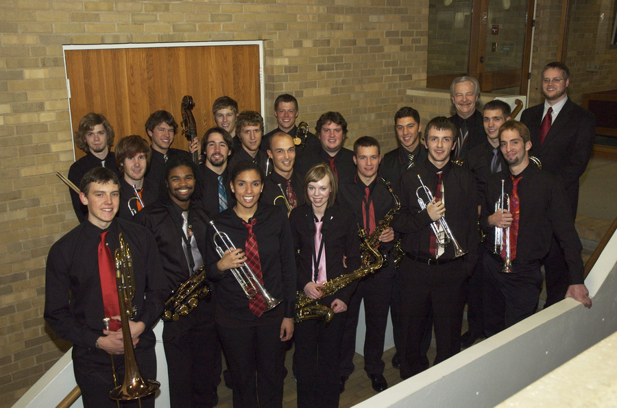 The Gustavus Jazz Lab Band and Guest Director Adam Rossmiller