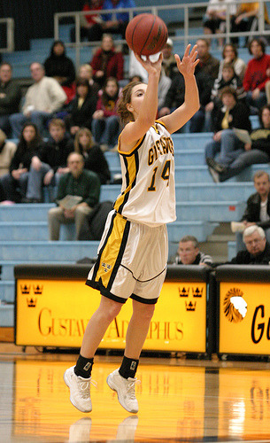 Julia Schultz scored 14 points and grabbed seven rebounds.