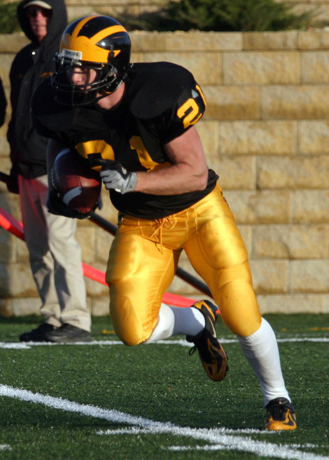 Welch was also a member of the Gustavus special teams unit.