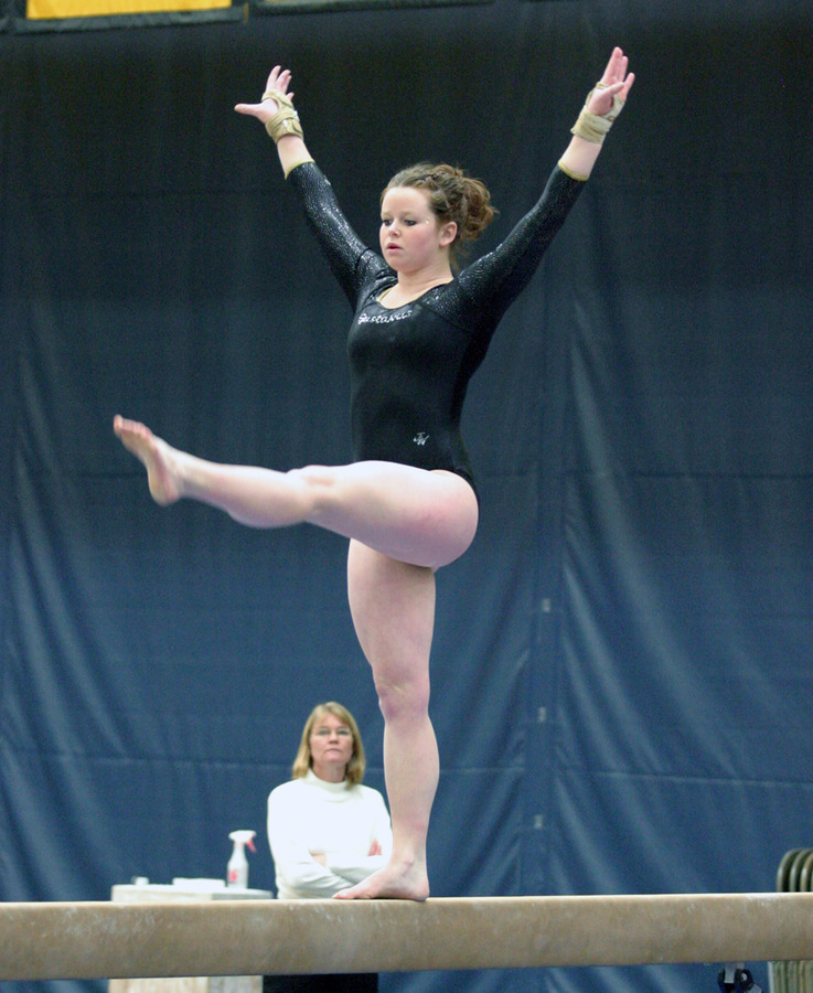 Christine Askham finished third in the all-around competition.