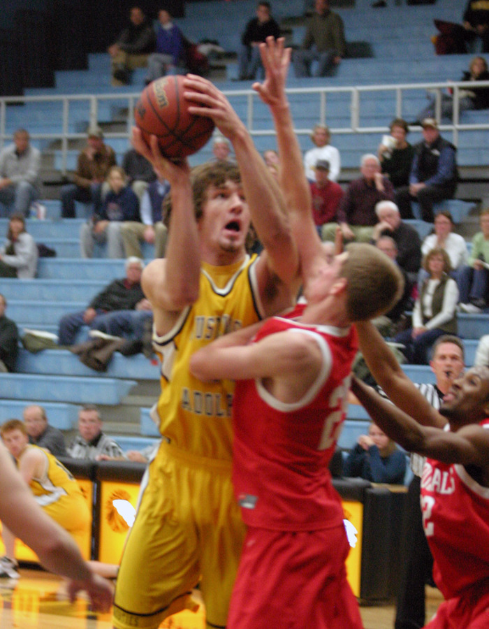 Sam Paulson led the Gusties with eight rebounds.