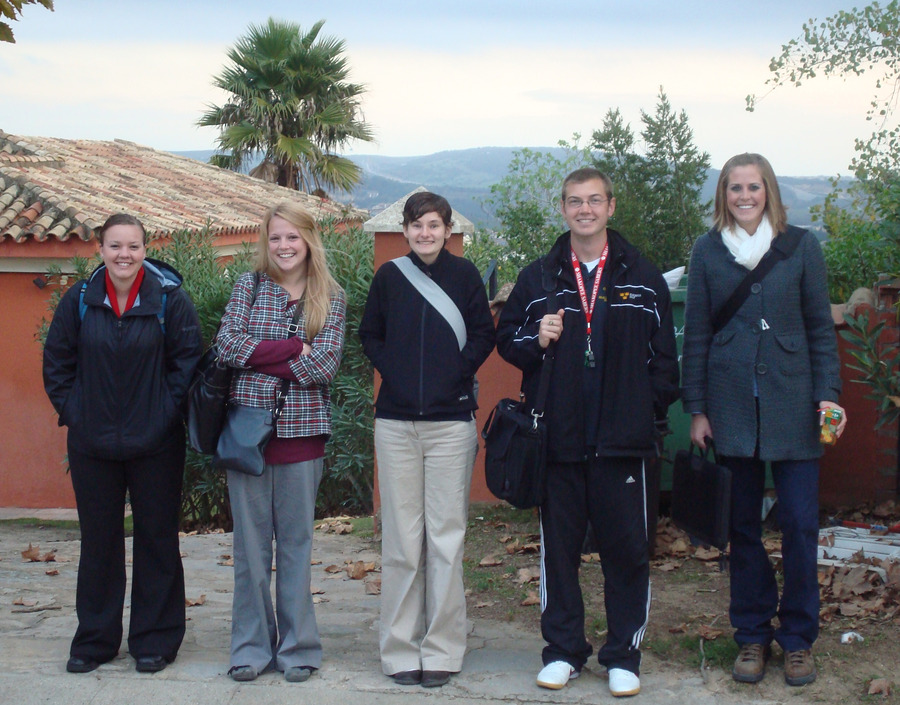 Gustavus students in Sotogrande, Spain
