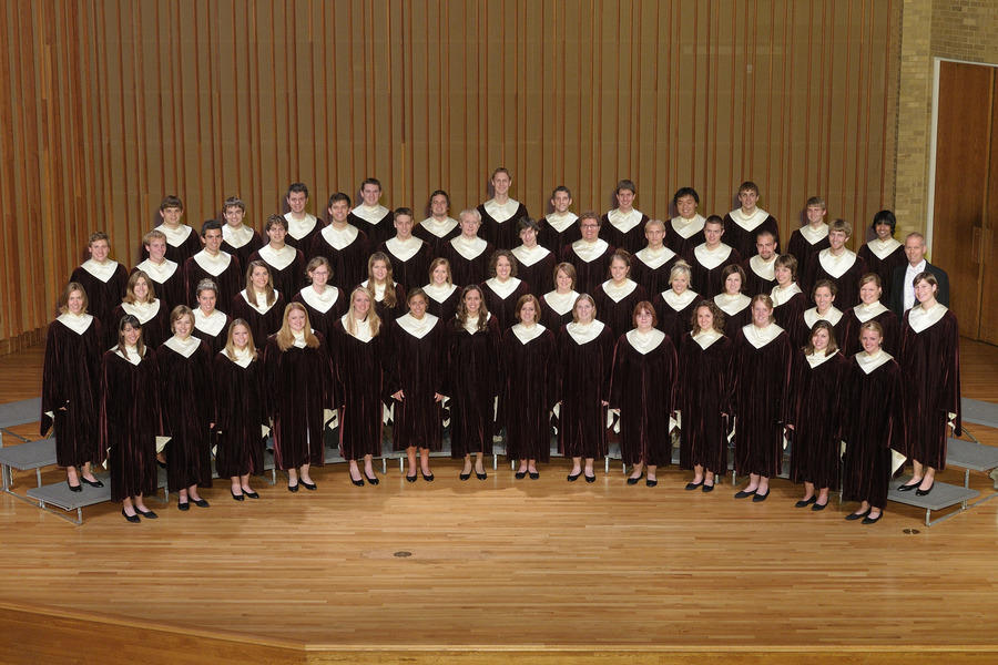 The 2008-09 Gustavus Choir