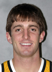 Junior Jesse Van Sickle is an All-MIAC pick in 2009.