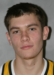 First-year Bobby Johnson was one of the first players to come off the bench for the Gusties.