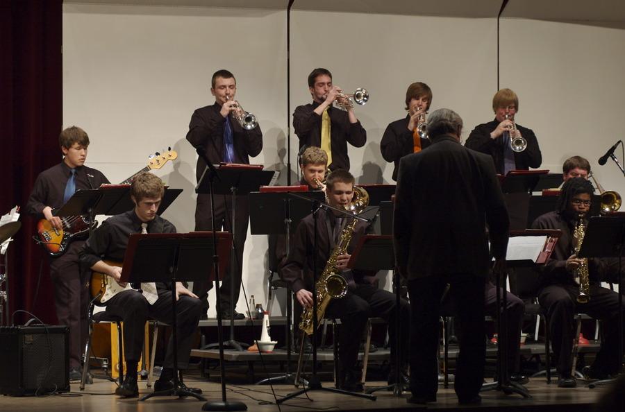 Gustavus Jazz Lab Band in Eau Claire Jazz Festival