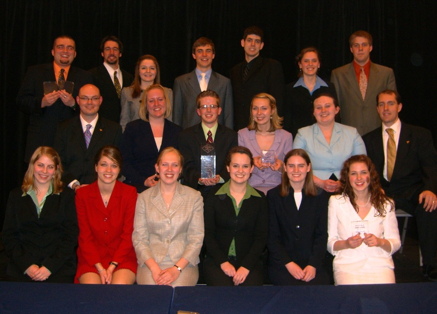 The Gustavus forensics team
