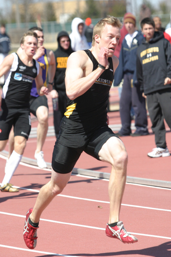 Cole Carlson won the 400 meters and finished third in the 200-meter dash.