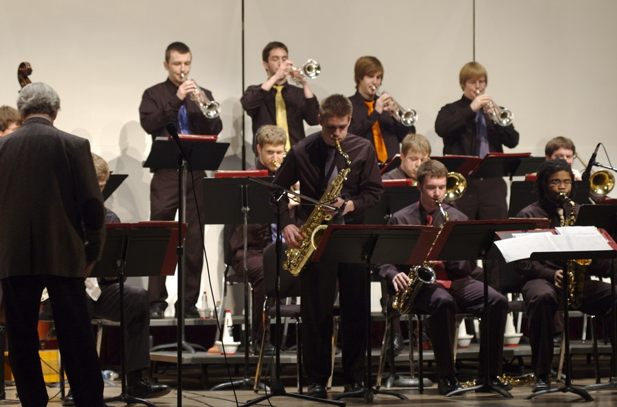 Gustavus Jazz Lab Band at Eau Claire Jazz Festival