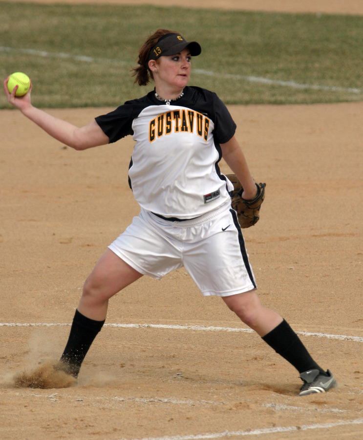 Betsie Collins struck out 11 batters in picking up the win in game one.